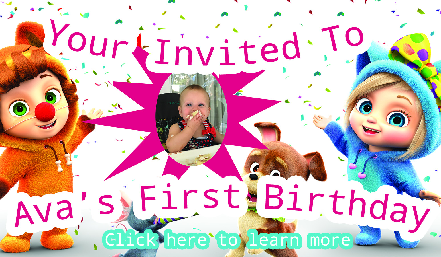 Invitation Party with awesome invitations ideas